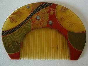 Reserved for Linda: Kushi comb, traditional Japanese hair ...