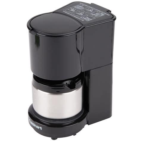 Expresso, cappuccino, latte, black coffee, etc. Cuisinart 4 Cup Coffee Maker (Conair WCM08B)