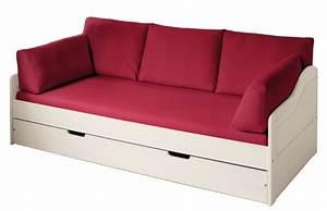 Couch Für Kinderzimmer : livipur m bel set carla naturwei sofa bett rot livipur echt ins leben ~ Orissabook.com Haus und Dekorationen