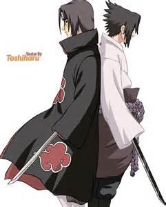 Naruto Sasuke and Itachi Brothers