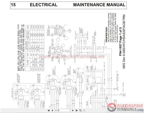kenworth wiring diagrams    conventional models