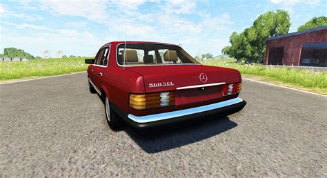 mercedes w126 for beamng