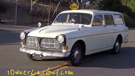 volvo amazon  station wagon  classic estate