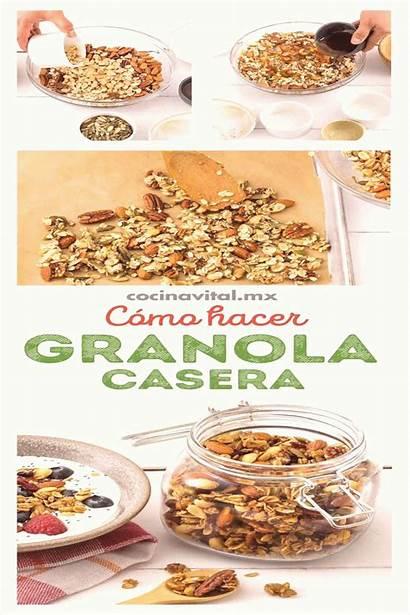 Granola Casera Crocante Recipes Halal Healthy Cy