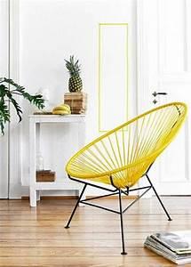 Fauteuil Jaune Ikea : fauteuil acapulco comment le relooker marie claire ~ Teatrodelosmanantiales.com Idées de Décoration