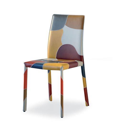 chaise de bureau originale patchwork chaise idd