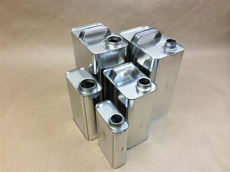 Rectangular Tinplate Metal F Style Cans