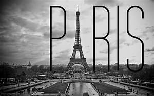 Paris Black and White Wallpaper - WallpaperSafari