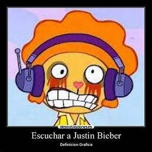 Escuchar a Justin Bieber | Desmotivaciones