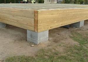 dalle bois nailweb With maison bois sur plots 1 fondation et dalle pour une nouvelle construction