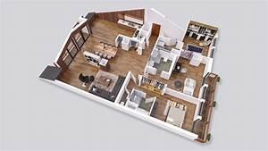 plan architecte 3d gratuit en fr de with plan architecte With maison de 100m2 plan 0 architouch 3d pour ipad dessinez vos plans de maison