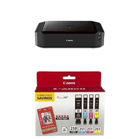 iphone compatible printers canon pixma ip8720 wireless color printer with airprint