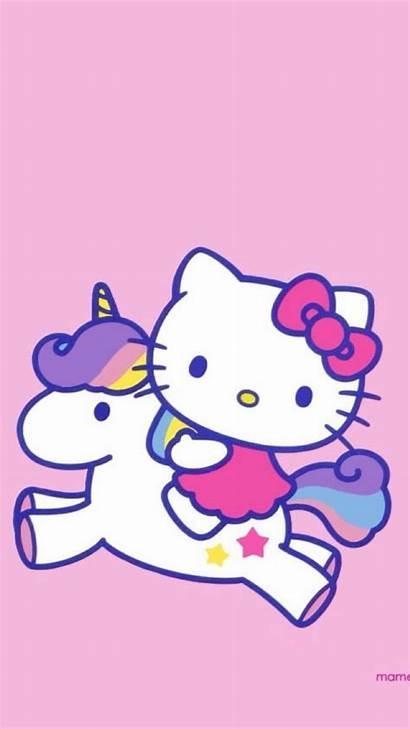 Kitty Hello Android Wallpapers Unicorn Sanrio Phone