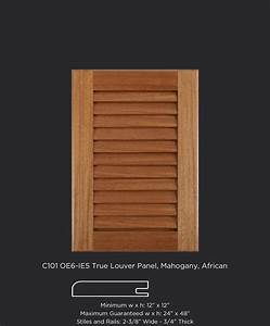 Louvered Cabinet Doors Panel Cabinets Matttroy