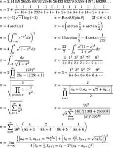 Pi Math Formula