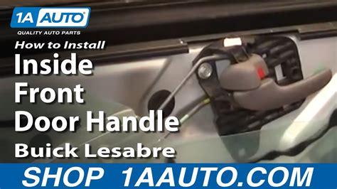 install repair replace  front door handle