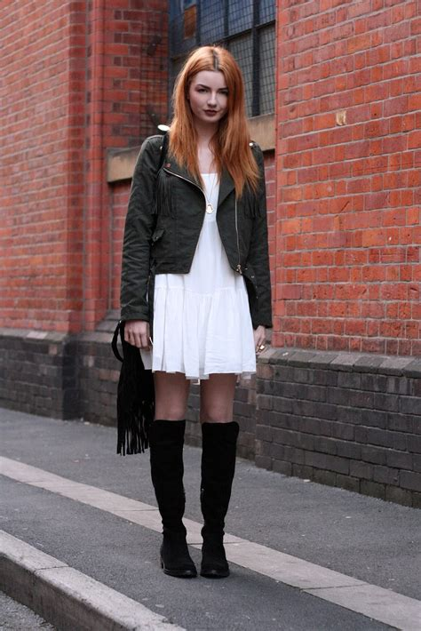 Outfit Of The Day   Knee High Boots - Hannah Louise Fashion