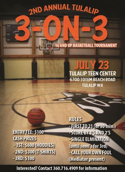 basketball tournament flyer template business
