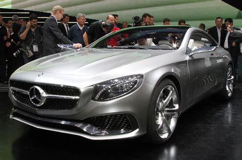 first mercedes mercedes benz s class coupe concept first look photo