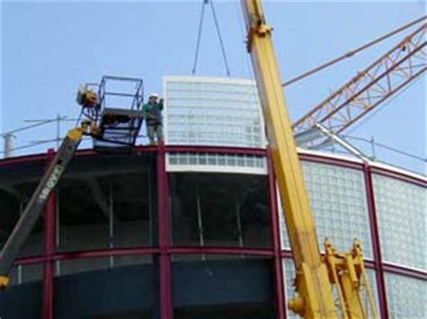 saverbat r 233 alisations parking le havre chantier en briques de verre
