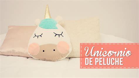 Haz Un Cojín De Unicornio! Youtube
