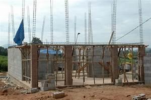 la construction de notre maison etape par etape With maison en beton coule