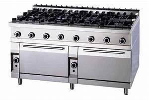 Cuisiniere Gaz 5 Feux : cuisiniere professionnelle 8 feux ~ Edinachiropracticcenter.com Idées de Décoration