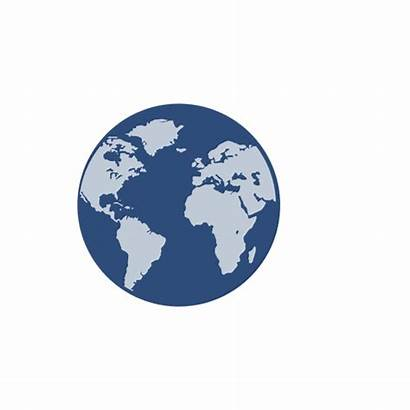 Globe Earth Globo Planeta Tierra Transparent Azul