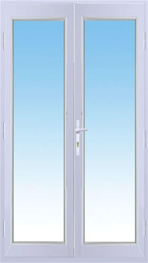 vial menuiserie cuisine porte fenêtre alu isotop 2 vantaux blanc dormant de 100mm