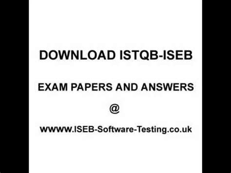 Istqb Certified Tester List Uk by Istqb Dumps Istqb Dumps 2014 Www Iseb Software Testing Co Uk
