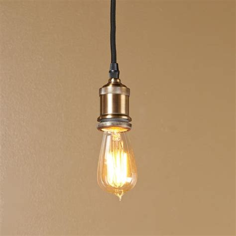 edison socket pendant light