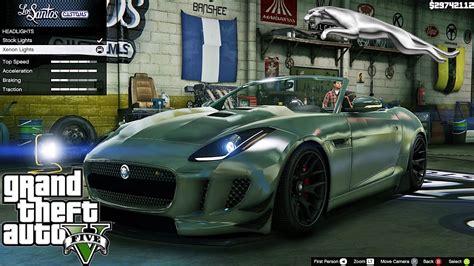 Jaguar F Type 2014 Gta V Car Mod Tuning !! [ Soley911