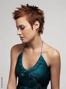 Coupe De Cheveux Femme Courte : coiffure coupe courte cheveux fins ~ Melissatoandfro.com Idées de Décoration