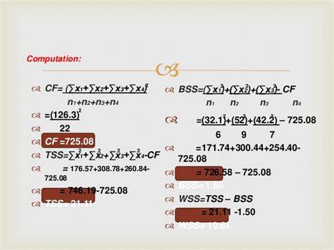 test anova parametric difference computation n3 way two