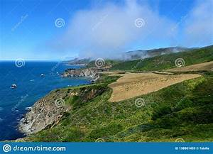 Bright, Landscape, Along, The, California, State, Route, One