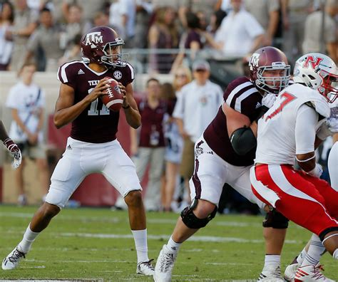 Latest on texas a&m aggies quarterback kellen mond including news, stats, videos, highlights and more on espn. Texas A&M Football: Jake Hubenak out, Kellen Mond in against ULL