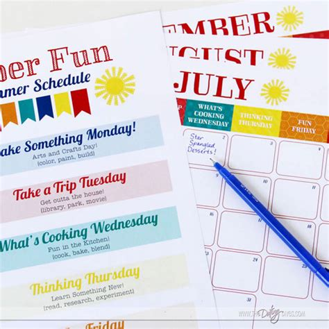 Printable Summer Boredom Busters Inspiration Made Simple