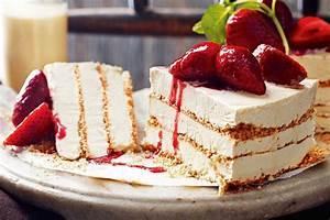 Zabaglione ice-cream cake - Recipes - delicious.com.au