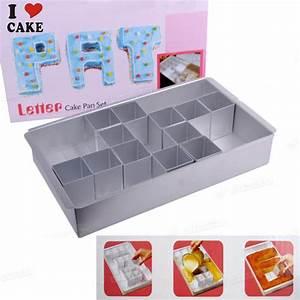 Aliexpresscom buy letter number cake pan set cake for Letter cake pans baking