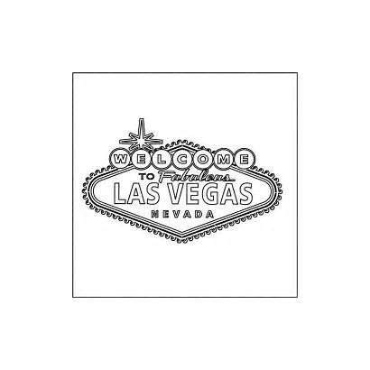 Vegas Las Sign Clip Casino Party Welcome