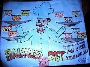 Poster Chart Project On Balanced Diets Smart Indian Women