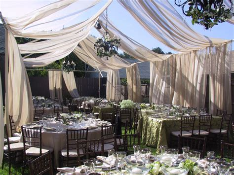 backyard wedding decor outdoor wedding decor ideas pb jacksonville