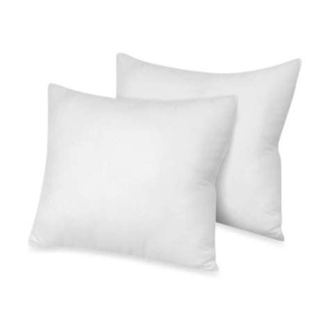 Square Pillows by Buy Square Pillows European Sham From Bed Bath Beyond