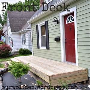 cape cod front porch ideas building a front deck our wolf den