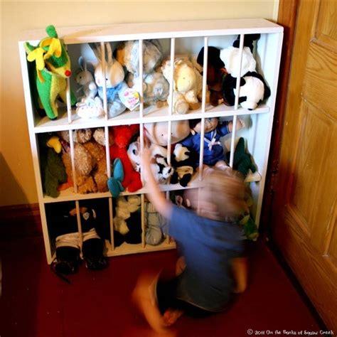 stuffed animal storage diy toy zoo toys animals creative organize ways build way bookshelf clever cute squaw banks creek think