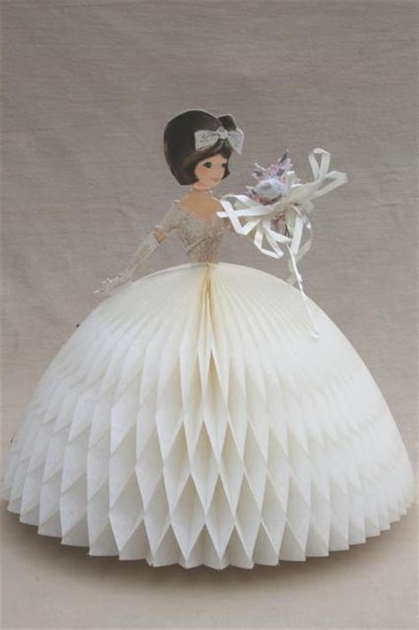 vintage hallmark honeycomb paper party decorations retro