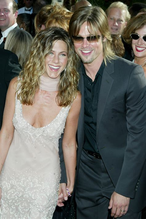 """Brad pitt and jennifer aniston were making headlines from the moment their relationship went public in 1998. Jennifer Aniston Is """"Very Happy"""" Brad Pitt Attended Her ..."""