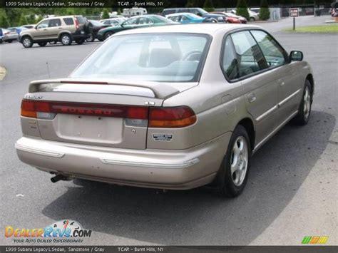 1999 Subaru Legacy L Sedan Sandstone / Gray Photo #4