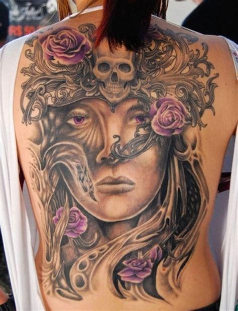 Tatouage Dos Complet Id 233 E Tatouage Dos Complet Femme Mod 232 Le De 319308