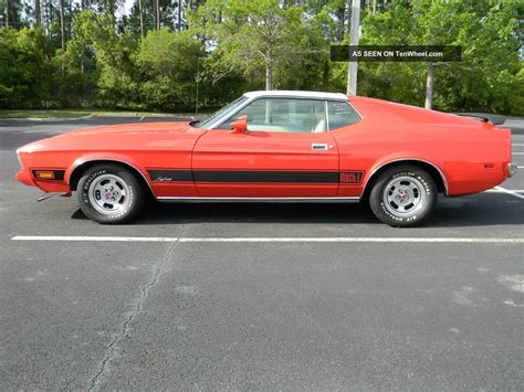 1973 ford mustang fastback 1973 ford mustang mach 1 fastback